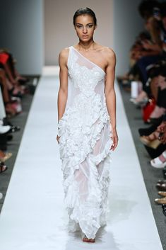 South African Fashion Week SDR photo South African Fashion, One Shoulder Wedding Dress, Wedding Dresses, Collection, Bride Dresses, Bridal Gowns, Weeding Dresses, Wedding Dressses, Bridal Dresses