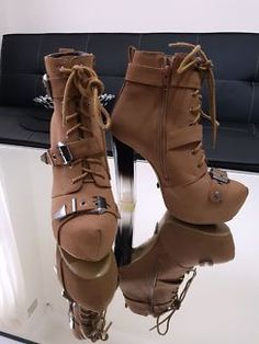 Boots ankle tie up and buckle | Women's Shoes | Gumtree Australia Canterbury Area - Kingsgrove | 1133036051
