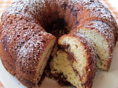 I made this-Coffee Cake.  It's really good and pretty easy for a 'from scratch.'  I would put a little more than 1/2 of the topping inside cause you lose some crumbles on the plate. Could also change is up and put blueberries in it. Will make again. And my cake turned out looking just like this pic.
