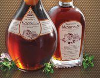 Mead bottle labels design case study by Yannis Aggelakos, via Behance