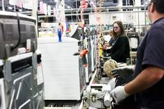 GE's Louisville, Ky. washing machine factory that has been spinning out topload washers since 1953 has added another 150 U.S. #jobs for the new topload washer. #appliances