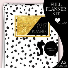 2017 FULL PLANNER KIT by BorbolloPlanners