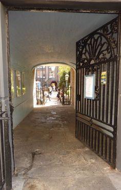 offenes Tor, London - Foto: S. Hopp