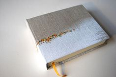 https://flic.kr/p/dvKEJM | case bound - hibernation jeweled | hand-painted and embroidered linen cloth cover