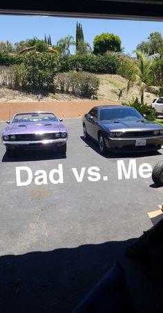 Dad (1970) vs. Me (2013) Challenger