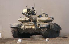 tanque de guerra T-90