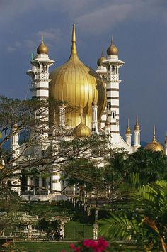 Ubudiah Mosque - Malaysia. Remember Islamic culture is not limited to the Middle East.