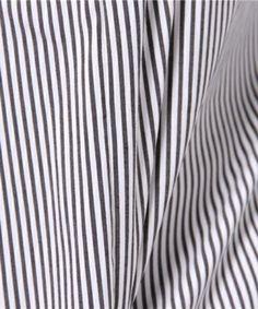 【コットンオーバーシャツ】シャリ感のあるコットン素材のスキッパーシャツ。オーバーサイズで…