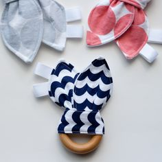 Carousel Taggie Teether Set