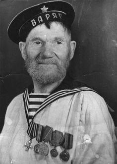 Моряк-ветеран крейсера «Варяг» Шутов Иван Никифорович