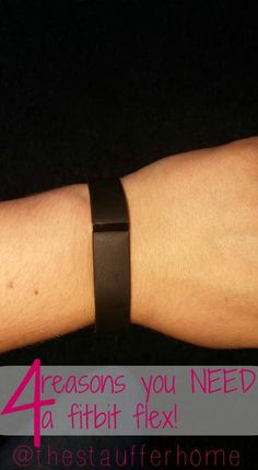 Enter to win a FITBIT FLEX from The Stauffer Home! Giveaway ends on 10/9/2015