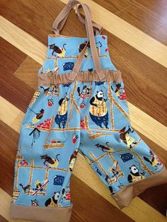 NEW!!! PATTERN ONLY: Workin� Hard Overalls