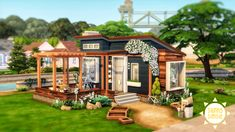Sims 4 House Plans, Sims 4 House Building, Sims House, Sims 4 Family House, Sims 4 House Design, Casas The Sims 4, Sims 4 Build, Cute House, Sims 4 Mods