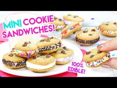 Kawaii Sweet World - Cute baking and more - Page 10 Mini Cookies, Cake Mix Cookies, Sandwich Cookies, Easy Bake Oven Mixes, Easy Oven Recipes, Cupcake Recipes, Cookie Recipes, Cupcake Cakes, Cute Baking