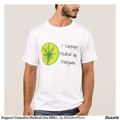 Support Cannabis Medical Use MMJ Medical Cross T-Shirt $23.65 #Zazzle I support Medical Use Marijuana. This bright tee with our version of the Medical Green cross with snake. Cannabis leaf in the background. Cannabis is recognized legally in several US states, mostly for medical purposes, but some are recognizing recreational use as well. Visit our 420 Cannabis section in our store for more of our Cannabis and MMJ inspired designs. #MMJ #Cannabis #Marijuana