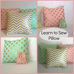 Looking for your next project? You're going to love Learn to Sew Pillow by designer Ana Sullivan.