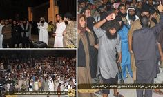 None in the crowd stepped forward, said a witness in the northern Syrian city of Raqqa. So the jihadis, mostly foreigners, did it themselves, pelting Faddah Ahmad with rocks.