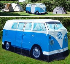 December 17, 2011 | New Products | by  Sarah Pinch Highly recommended by the LAEM team. |    We're in the thick of festival season in the Southern Hemisphere and this Kombi van tent is sure to stop foot traffic amongst the camping grounds. If it's a rockin', don't come a unzippin'?