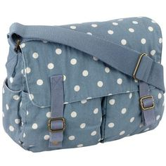 Cath Kidston. Purses 2017, Cath Kidston Bags, Blue Purse, Cute Bags, Beautiful Bags, Saddle Bags, Polyvore Fashion, Purses And Bags, Diaper Bag