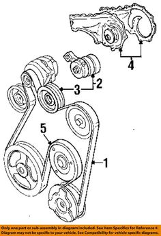 GM Cadillac Deville 85 86 87 88 89 90 91 92 93 -Serpentine Idler Pulley 1627264 #CADILLACGMOEM