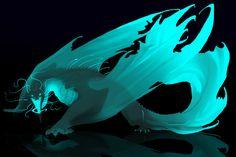 night glow dragon adopt by oukamiyoukai45.deviantart.com on @deviantART
