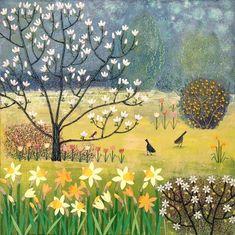 Spring Garden by Josephine Grundy