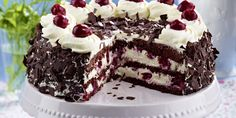 Recipe for Gluten-free Black Forest gateau