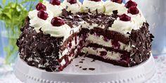Recipe for Gluten-free Black Forest gateau