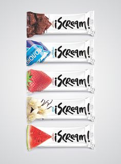 I Scream, ice cream by Backbone Branding, via Behance PD Dessert Packaging, Ice Cream Packaging, Cool Packaging, Food Packaging Design, Packaging Design Inspiration, Brand Packaging, Food Branding, Ice Cream Design, Ice Cream Brands