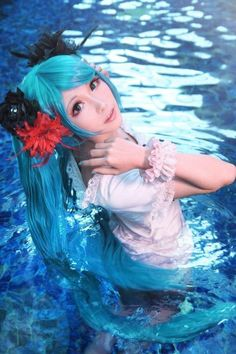 Hatsune Miku, Vocaloid | Mon - WorldCosplay