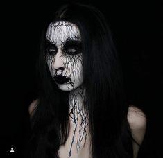 Sfx Makeup, Metal Girl, Body Painting, Black Metal, Halloween Face Makeup, Girls, Bodypainting, Toddler Girls, Body Paint