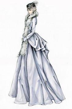 "Jacqueline Durran for ""Anna Karenina"", 2012 | Sketch"