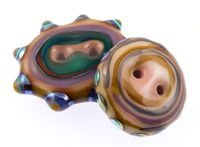 Chunky Buttons  - Lampwork Tutorial by Make Glass Beads