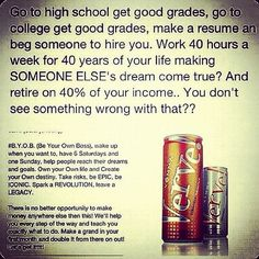 Ridiculous. I want to be the one in control of my life. #verve #vemma Ask me how!