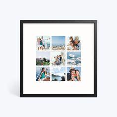 Collage Photo Frame Design, Photo Wall Layout, Photos Encadrées, Creative Wall Decor, Photo Room, Photo Print, Insta Snap, Montage Photo, Multi Photo