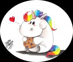 Rainbow Unicorn _ Pummeleinhorn
