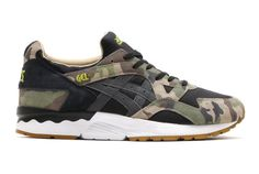 """Here's Your Best Look Yet at the Atmos x ASICS Gel Lyte V """"Woodland Camo"""" 