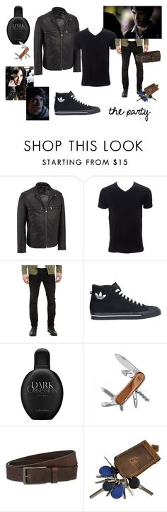 """""""Already Gone [04]"""" by mollyfrost on Polyvore featuring Andrew Marc, 7 For All Mankind, adidas, Calvin Klein, Victorinox Swiss Army, HUGO, men's fashion and menswear"""