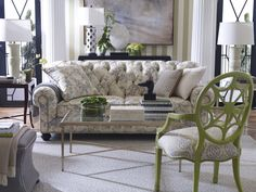 Decorating Room Ideas With Nice Interior Designs Traditional Living Ethan Allen Design Fl Sofa Motif