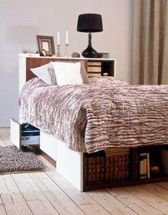 Smart förvaringslösning i sovrummet