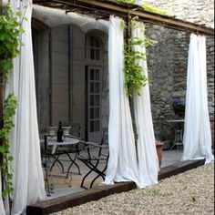 outdoor curtains make all the difference