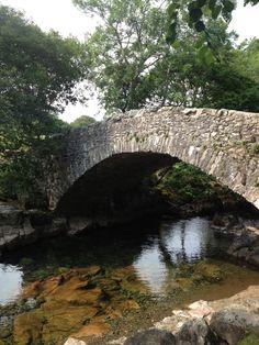 Bridge in Eskdale. Old Bridges, Over The Bridge, Places Of Interest, Lake District, Summer 2014, Garden Bridge, Paths, United Kingdom, The Past