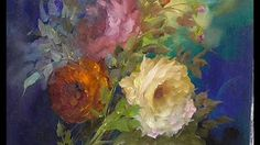 "The Beauty of Oil Painting, Behind the scenes, Episode 5 ""Symphony of Roses"" - YouTube"