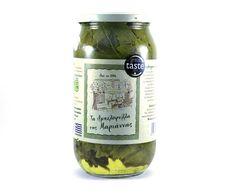 ''MARIANNA'S PRODUCTS''  Vine Leaves BIO Vine Leaves, Cucumber, Vines, Greek, Products, Greek Language, Arbors, Cauliflower, Beauty Products
