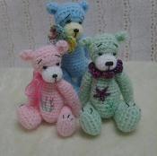 Thread Crochet Madisyn Bear - via @Craftsy