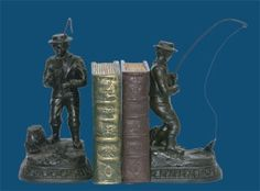 Pair Of Fish On Line Bookends