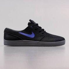 pretty nice 0e35f 2fb23 Nike SB Stefan Janoski Lunar Shoes Black Game Royal Cool Grey