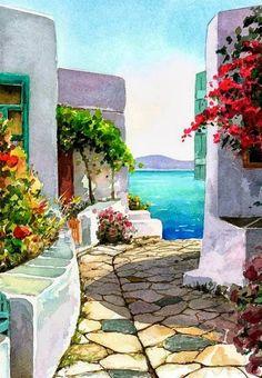 pinturas-en-acuarela-paisajes-decorativos