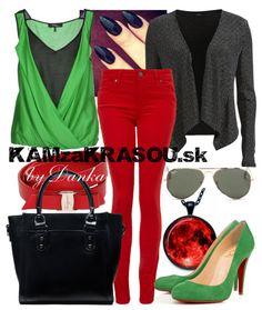 #kamzakrasou #sexi #love #jeans #clothes #coat #shoes #fashion #style #outfit #heels #bags #treasure #blouses #dress Farebný outfit