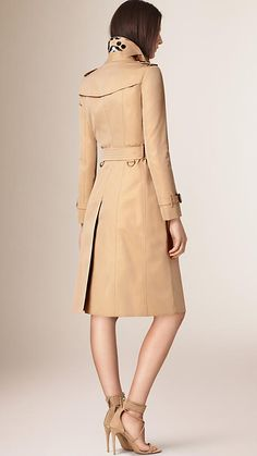 Manteau trench femme burberry